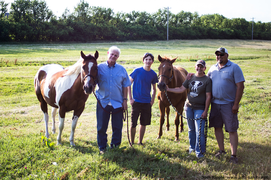Trip to Kansas – Day 1 – Horses