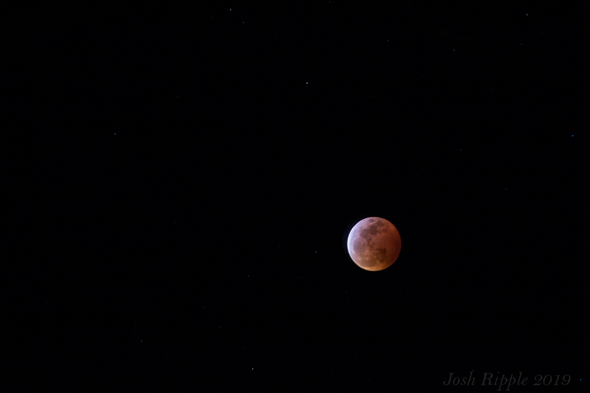 Blood Wolf Moon 01-23-2019
